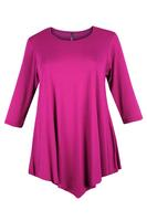 Lovedrobe Pink Three Quarter Sleeve Basic Tunic